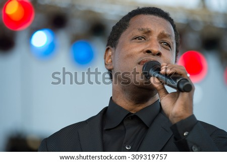 LINCOLN, CA - August 22: Kenny Babyface Edmonds performs at Thunder Valley Casino Resort in in Lincoln, California on August 22, 2015