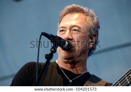 LINCOLN, CA - JUNE 2: Stu Cook with Creedence Clearwater Revisited performs at Thunder Valley Casino Resort in Lincoln, California on June 2, 2012