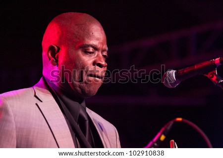 LINCOLN, CA - MAY 12: Maceo Parker performs at Thunder Valley Casino Resort in Lincoln, California on May 12, 2012