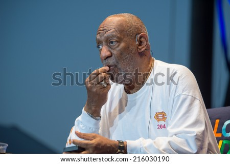 LINCOLN, CA - September 06: Bill Cosby performs in support of his Far From Finished tour at Thunder Valley Casino Resort in Lincoln, California on September 06, 2014 - stock photo