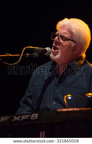 LINCOLN, CA - September 25: Michael McDonald performs on stage at Thunder Valley Casino Resort in in Lincoln, California on September 25, 2015 - stock photo