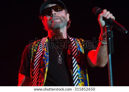 LINCOLN, CA - September 11: Paul Rodgers performs on stage at Thunder Valley Casino Resort in in Lincoln, California on September 11, 2015 - stock photo
