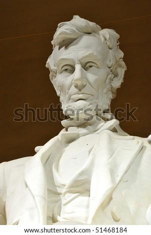 Lincoln Memorial at night, Washington, DC - stock photo