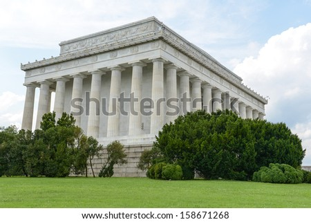Lincoln Memorial Building - stock photo