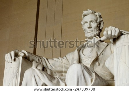Lincoln Memorial, Washington, D.C. - stock photo