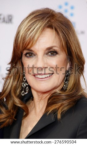 Linda Gray at the 2012 TCM Classic Film Festival Gala Screening of 'Cabaret' held at the Grauman's Chinese Theater in Hollywood on April 12, 2012.