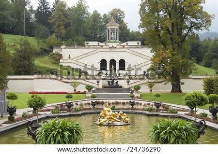 Linderhof Palace - Bavaria - Germany