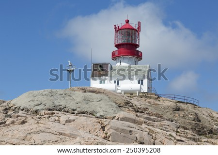 Lindesnes lighthouse (South Cape, Vest-Agder, Norway)