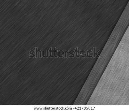Linear brushed metal texture layers. Aluminum background abstract wallpaper.