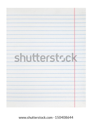 lined notebook paper texture with right margin
