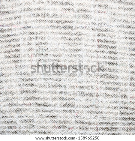 Linen and cotton mix texture for background - stock photo