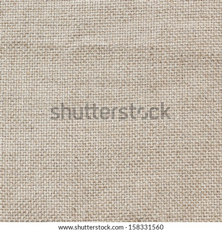 Linen canvas fabric background, real natural material