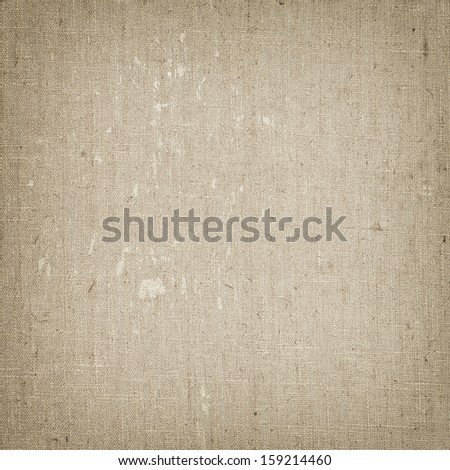 Linen canvas texture background detail - stock photo