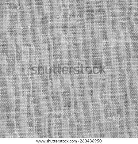 Linen coarse natural woven unpainted canvas fabric texture for the background - stock photo
