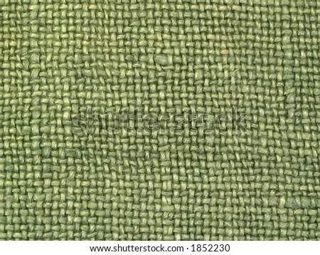 Linen fabric two, details - stock photo