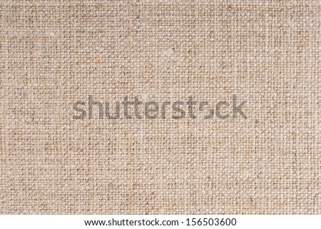 linen hessian fabric texture - stock photo