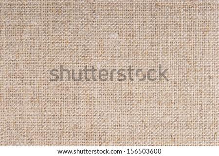 linen hessian fabric texture - stock photo