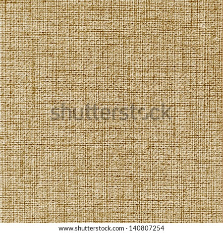 linen sack texture - stock photo