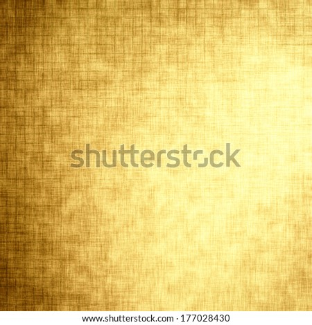 Linen texture, gold festive background for advertisement, wrapping paper, label, Valentine's Day, greeting card, scrapbook, wedding invitation etc.  - stock photo