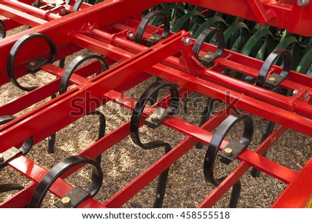 Liner agricultural machinery for a Farming Tractor