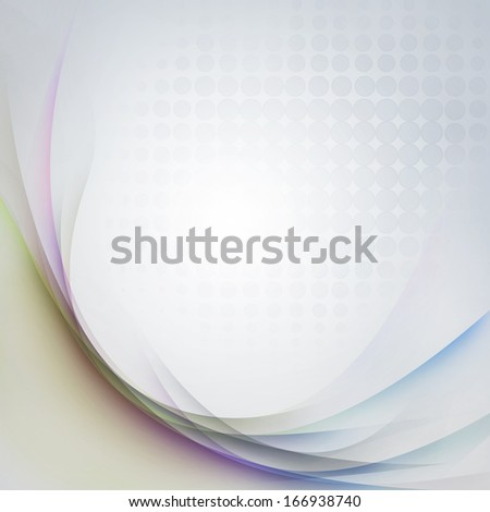 Lines and halftone pattern background - stock photo