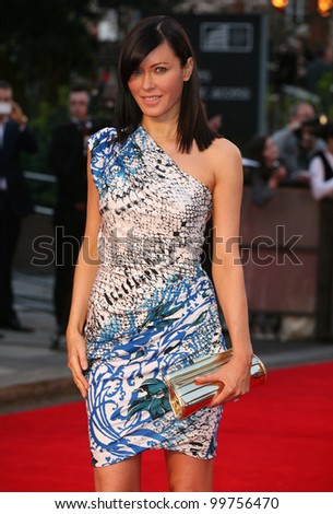 Linzi Stoppard arriving for the Titanic 3D film premiere, Royal Albert Hall, London. 27/03/2012 Picture by: Alexandra Glen / Featureflash