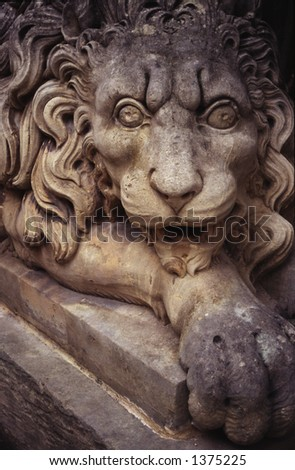 Lion - Knights of St John Palace, Valletta, Malta.