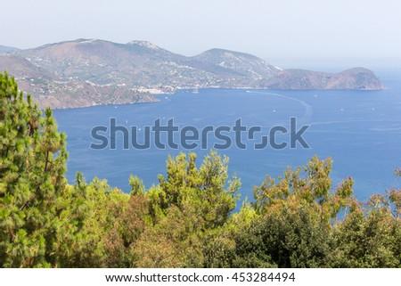 Lipari - Aeolian Islands - stock photo