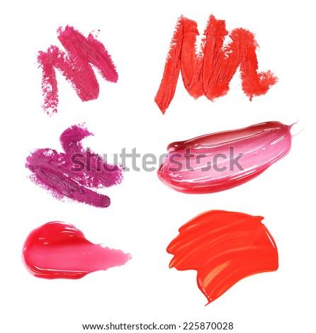 lipstick drawing - stock photo