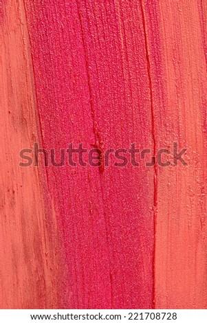 Lipstick texture - stock photo