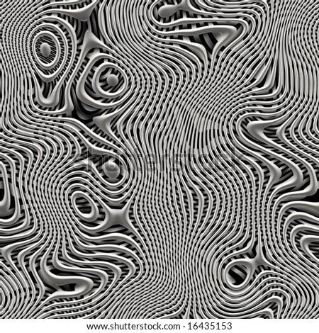 liquid silver metal texture - stock photo