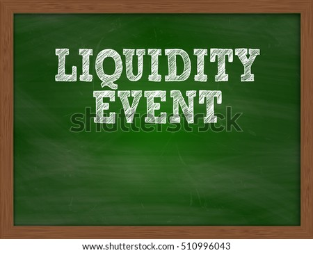 Stock options liquidity event