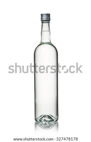 liquor bottle 4 - stock photo
