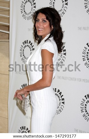"Lisa Edelstein arriving at the ""House"" Event at the Paley Center for Media in Beverly Hills , CA on June 17, 2009."
