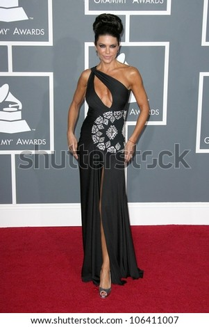 Lisa Rinna at the 51st Annual GRAMMY Awards. Staples Center, Los Angeles, CA. 02-08-09