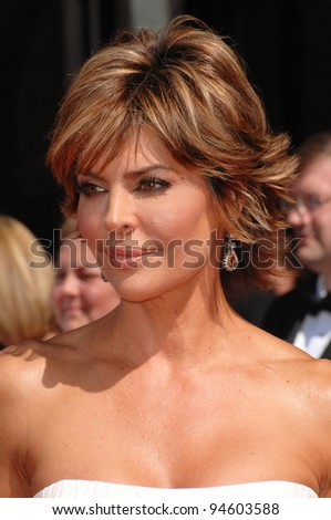 Lisa Rinna at the 59th Primetime Emmy Awards at the Shrine Auditorium. September 16, 2007 Los Angeles, CA Picture: Paul Smith / Featureflash