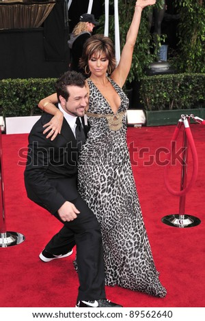 Lisa Rinna & Joey Fatone at the 14th Annual Screen Actors Guild Awards at the Shrine Auditorium, Los Angeles, CA. January 27, 2008  Los Angeles, CA. Picture: Paul Smith / Featureflash