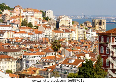 Lisbon City Stock Images RoyaltyFree Images Vectors Shutterstock - Lisbon portugal neighborhoods map