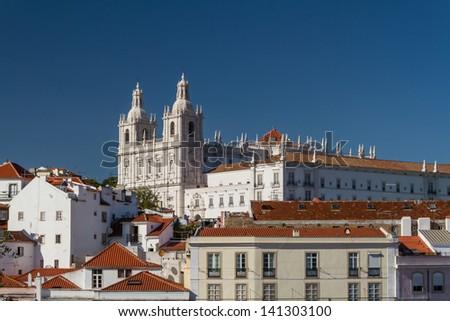 Lisbon / Lisboa - capital of Portugal - stock photo