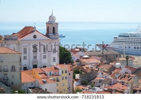 stock-photo-lisbon-portugal-a-cruise-shi