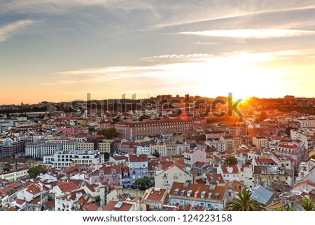 Lisbon, Portugal, Europe - stock photo