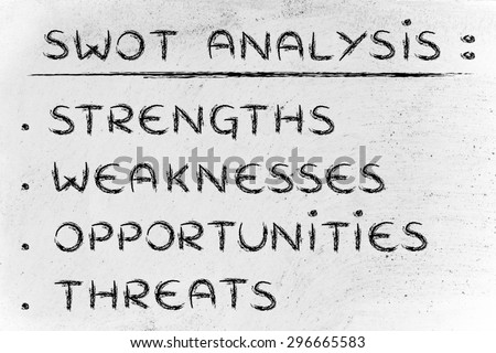 list of weaknesses
