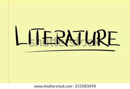 Literature Concept - stock photo