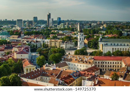 Lithuania. Vilnius Old Town
