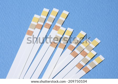 Litmus Paper of ph Value Measurement - stock photo