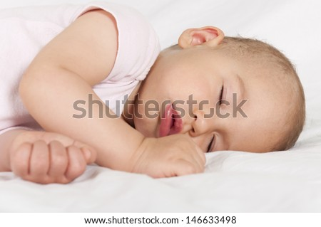 Little baby have a sweet dreams