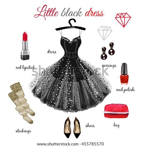 Little Black Dress Stock Images- Royalty-Free Images &amp- Vectors ...