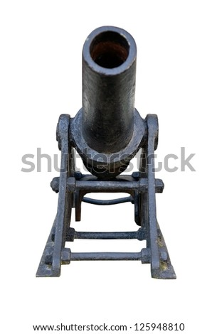 Little cannon, made in Russia at the beginning of 20 century - stock photo