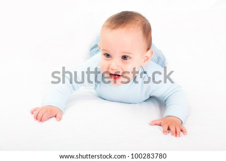 Little Child on the Bed