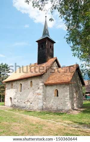 little church in Landskron in Kaernten (Carinthia)